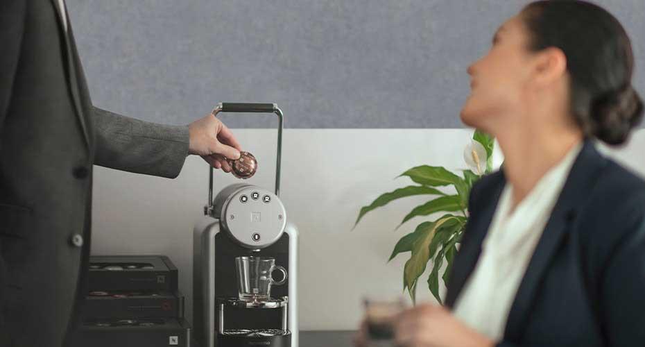 Kawa wkapsułkach Nespresso wfirmach