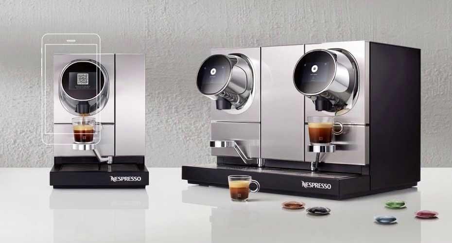 Nespresso - zdalne sterowanie