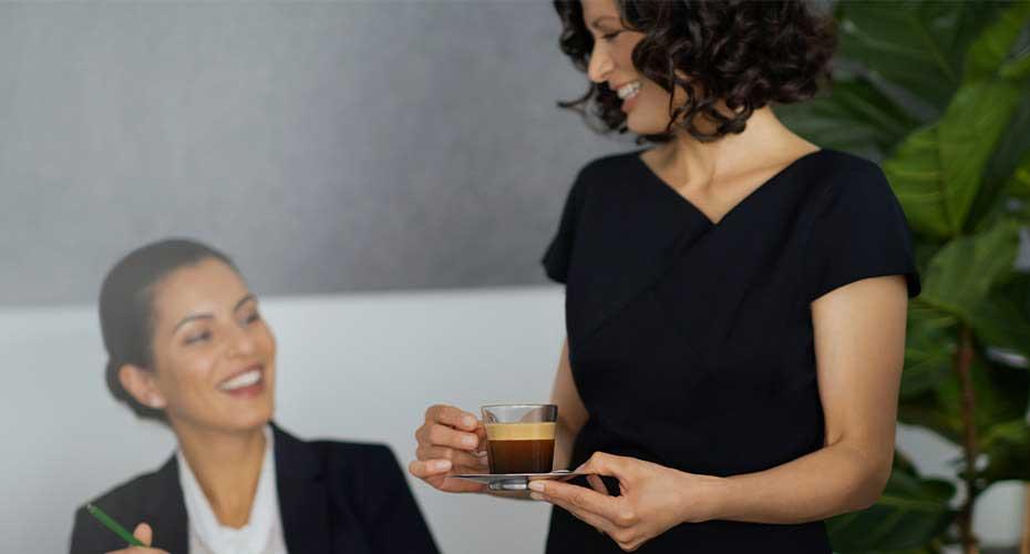 profesjonalne doradztwo - kawa Nespresso