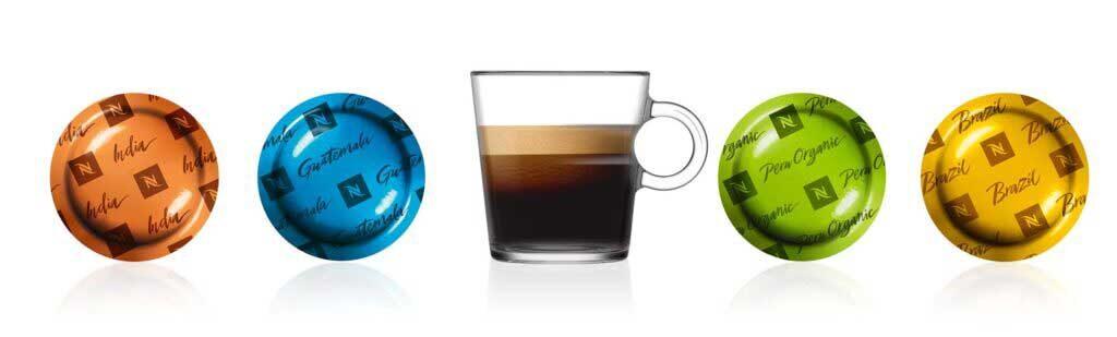 Wybierz kawę Nespresso doswojej firmy